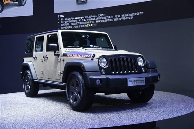 Jeep牧马人Rubicon Recon限量版亮相 售价54.99万元