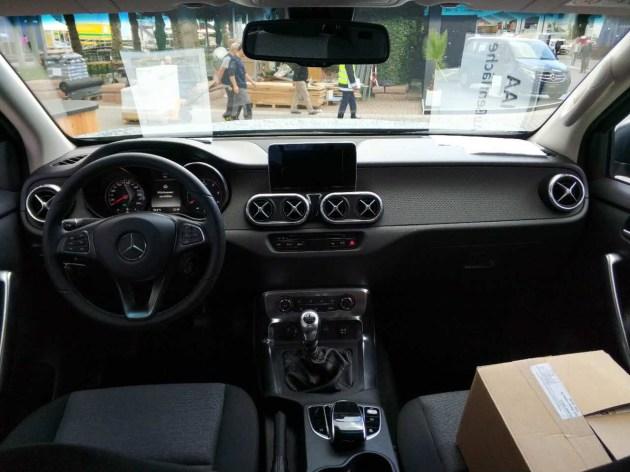 2017法兰克福车展:奔驰X级皮卡亮相/与纳瓦拉同平台