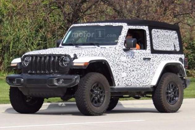 全新Jeep牧马人双门软顶版谍照 或将推出混动版