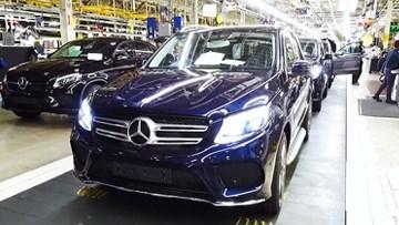 奔驰GLE/GLS生产 工厂实拍