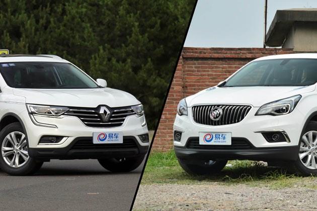 全新一代科雷傲对比昂科威 实力派中型SUV哪家强