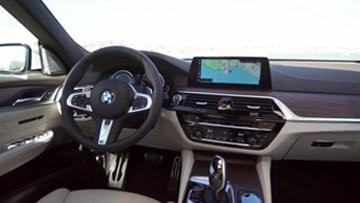 2018款宝马6系GT 内饰科技感更加明显