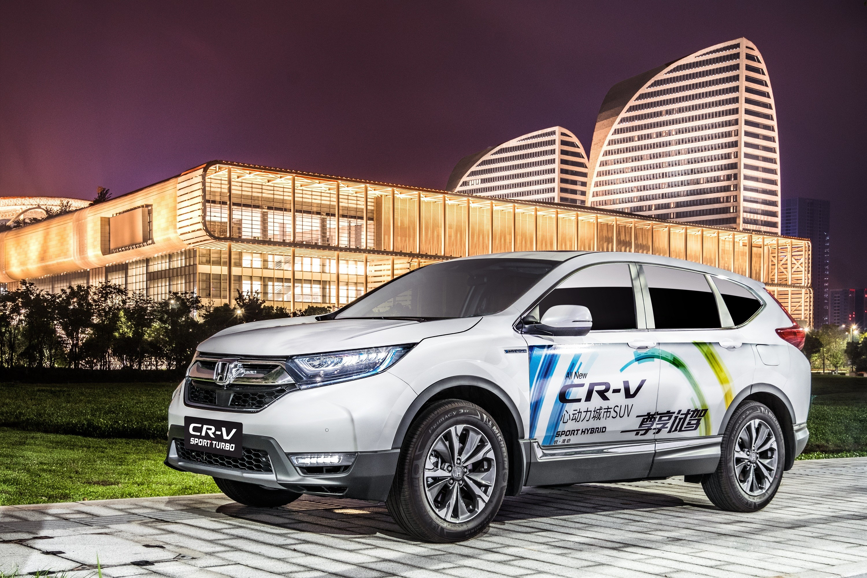 影像故事:全新一代CR-V锐·混动巡游杭州