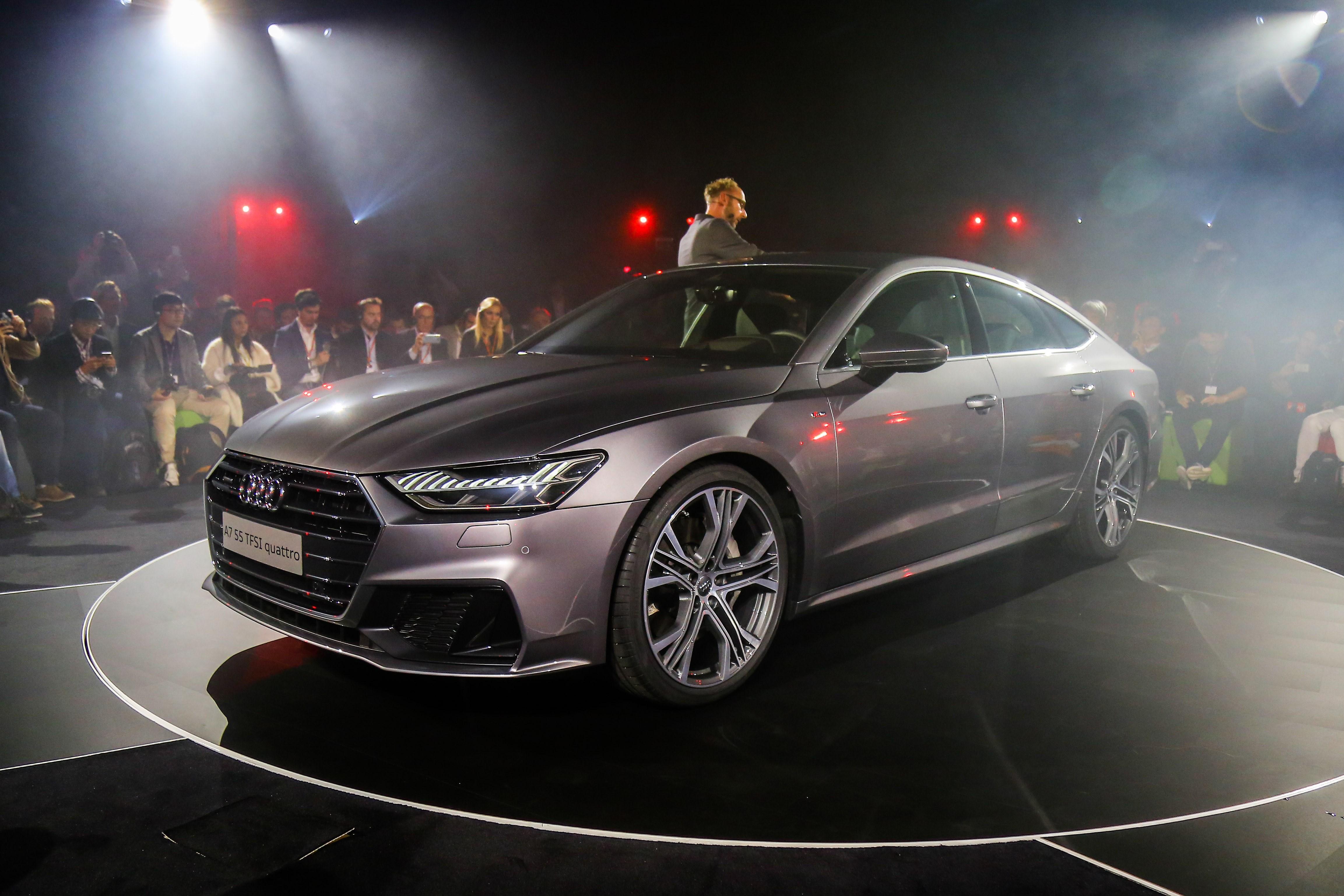 奥迪全新一代A7发布 延续经典造型/科技感爆棚