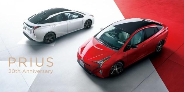 丰田发布普锐斯特别版车型 官图 设计细微调整