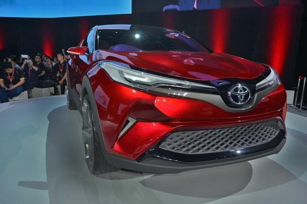 一汽丰田首款小型SUV将广州车展首发 2018年上市