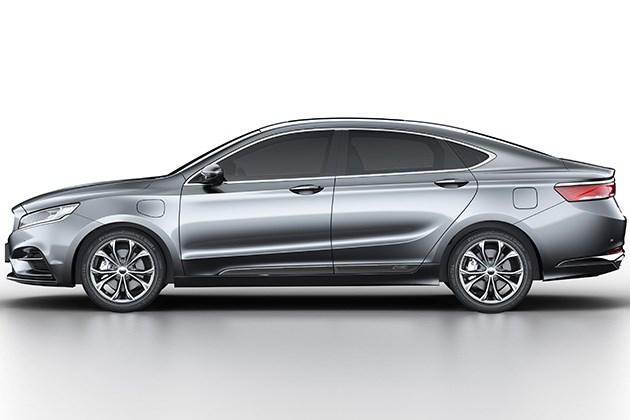 吉利K车型申报图曝光 搭载1.5T+7DCT插电式混合动力系统