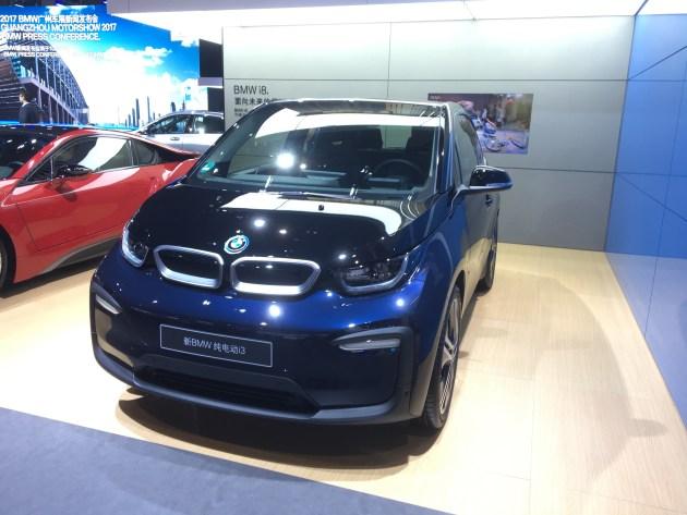 2017广州车展:新款宝马i3正式在国内亮相