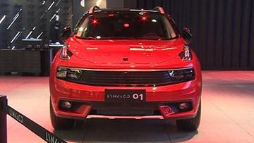 广州车展 领克01量产车亮相