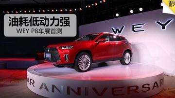 2017广州车展 首测WEY P8