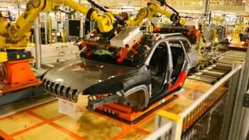 全新Jeep自由光生产过程曝光