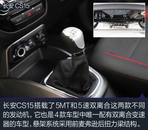 长安CS15在外形设计方面同样具备年轻、时尚的特色,只是相比远景X3和宝骏510稍显普通了些。其在内饰设计方面也不具备太多的亮点,对于年轻用户的吸引力不够大。并非是长安CS15的设计显得过时了,而是竞品车型们更新的速度太快,使得长安CS15的自身优势没能保留太长时间而已。