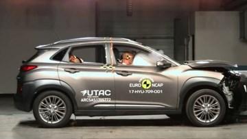现代KONA E-NCAP碰撞测试