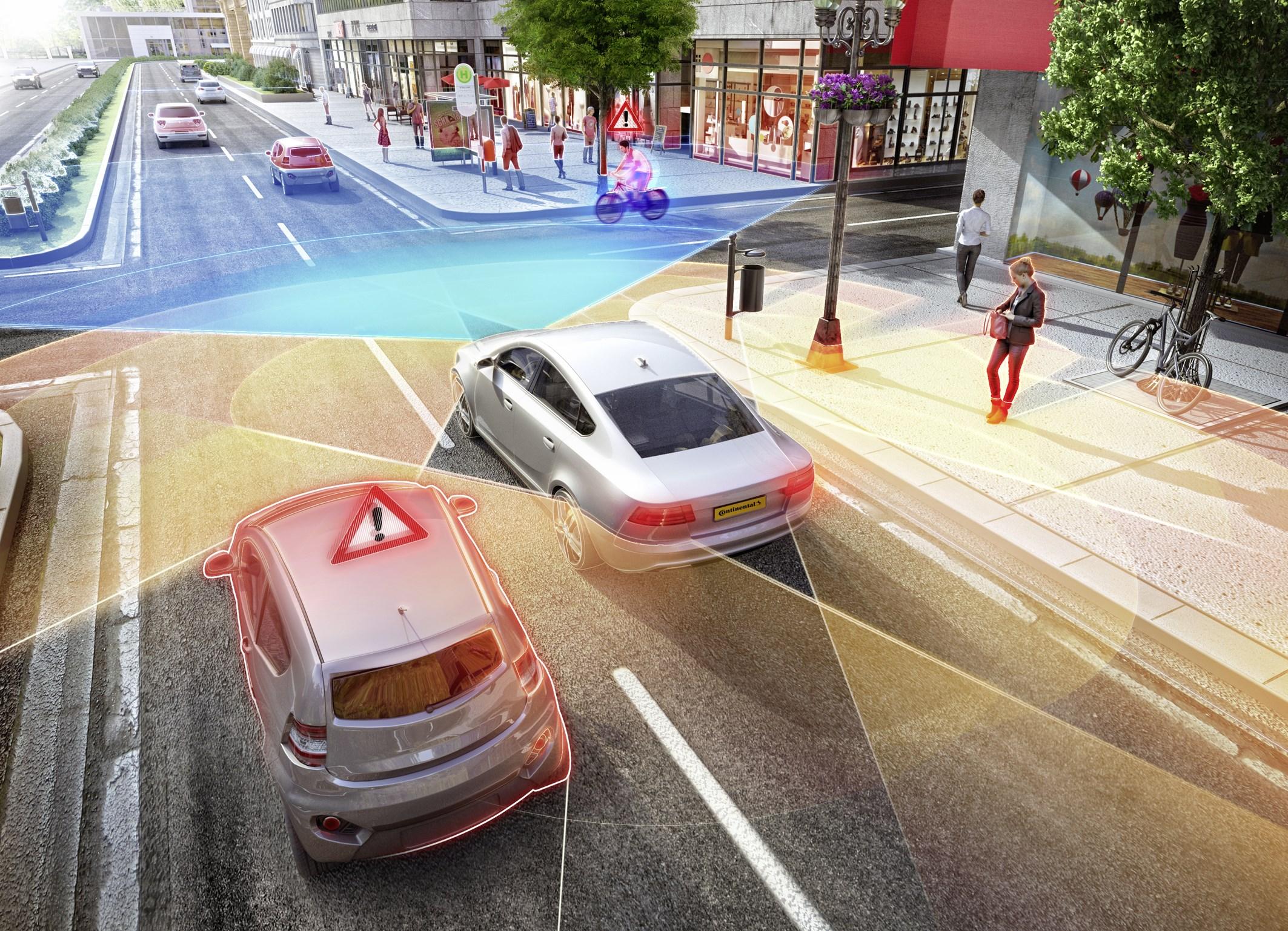2018 CES展:大陆第五代雷达 让自动驾驶更加智能
