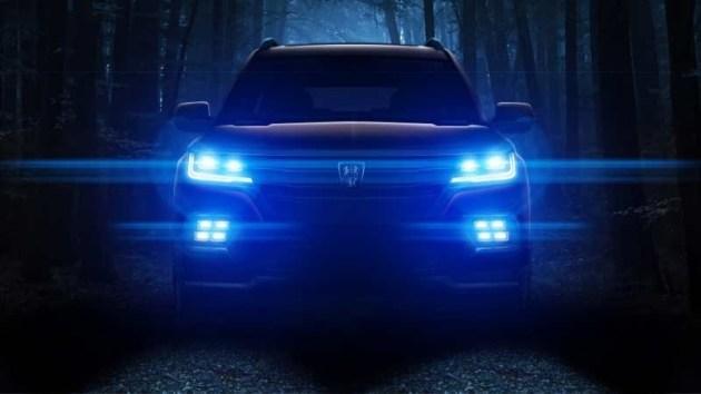 疑似荣威RX8预告图曝光 硬派7座SUV/上半年上市