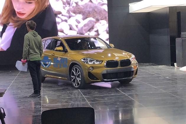 2018北美车展探馆:宝马X2实车现身展馆