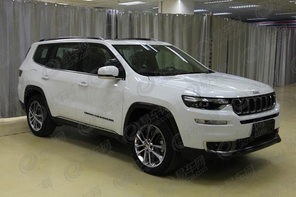 国产Jeep大指挥官申报图曝光 2.0T动力/2018北京车展亮相