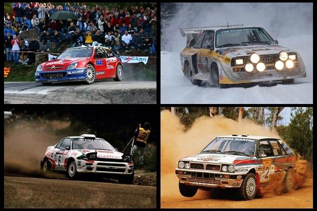 四款WRC赛事经典赛车介绍 王者中的王者