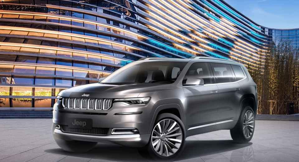 国产Jeep大指挥官官图发布 2018北京车展亮相/或年中上市
