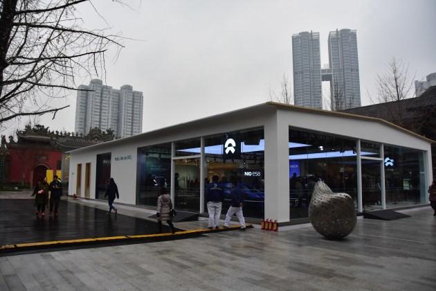 蔚来ES8成都首秀 蔚来中心NIO House下半年开业