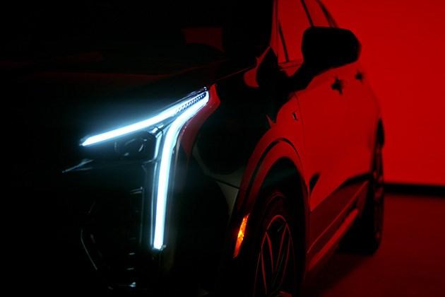 凯迪拉克XT4首度曝光 将于3月下旬在纽约正式发布