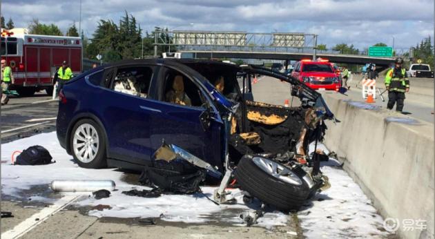 """特斯拉死亡事故报告出炉,还是司机""""走神儿""""惹的祸"""