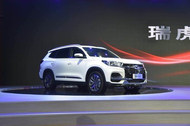 奇瑞瑞虎8于4月11日开启预售 7座布局/2018年北京车展上市