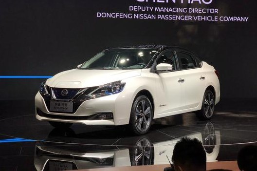 2018北京车展:全新电动轩逸亮相日产展台 续航400公里