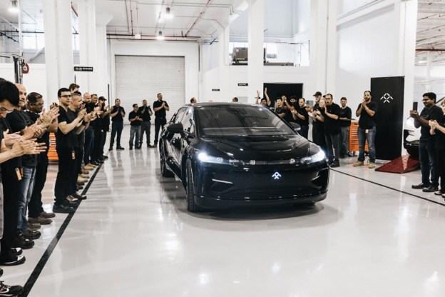 FF91首台预量产车打造完成 量产进入最终倒计时