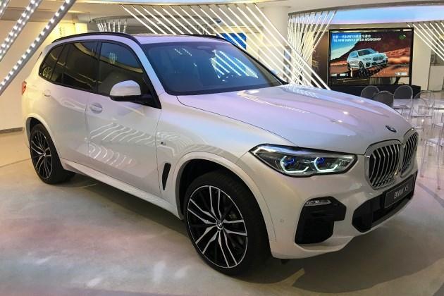 全新宝马X5将于12月上市 采用全新内饰设计