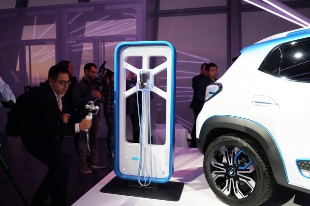 2018巴黎车展 雷诺全新电动概念车K ZE亮相 2019年上市