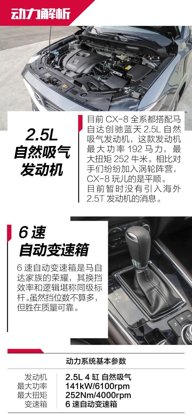 长安马自达CX-8体验 途昂/汉兰达准备接招