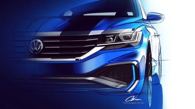 美版Passat预告图发布 2019年北美车展首发