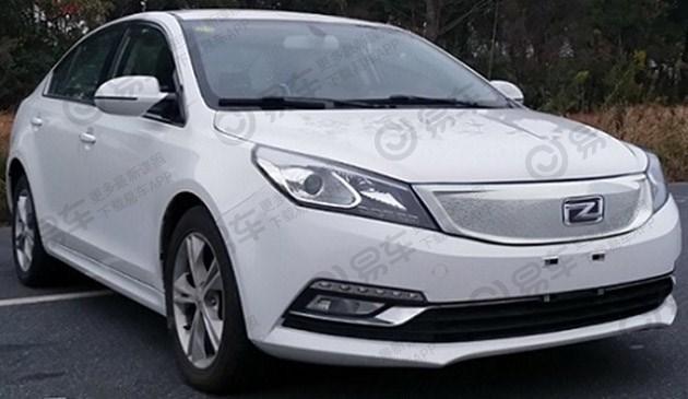 众泰全新电动车ez500申报图曝光 和汽油版造型保持一致-汽车头条