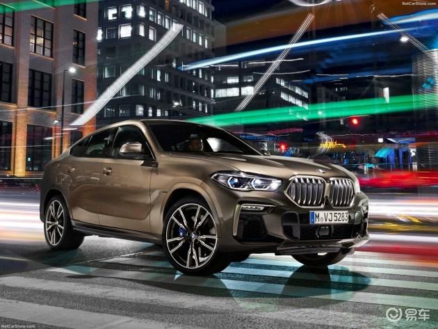 轿跑SUV鼻祖再革新 全新一代宝马X6正式亮相