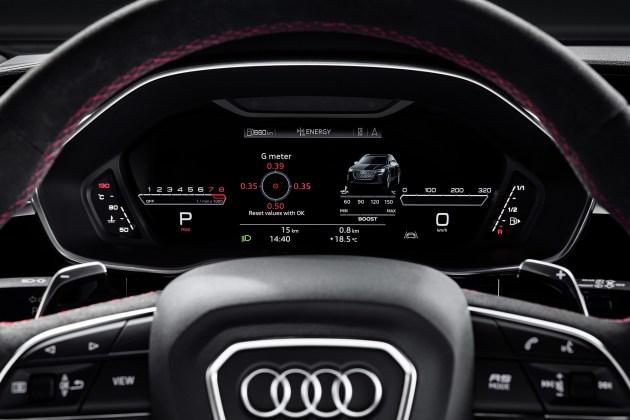 奧迪RS Q3官圖發布 兩種車身/百公里加速4.5秒
