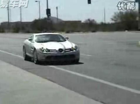 梅赛德斯奔驰slr迈凯伦超级跑车