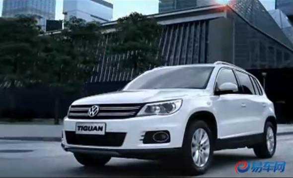 上海大众途观上市发布会现场宣传片 易车体验 试驾上高清图片