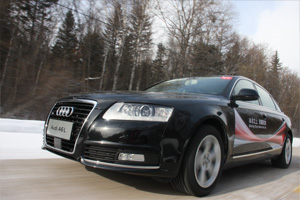 冰雪试驾奥迪A6L 11年型 增加高科技配置