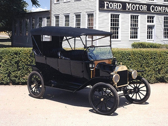 经典老车 福特Model T问世100年