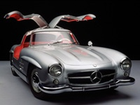 1954年鸥翼门梅赛德斯奔驰300 SL