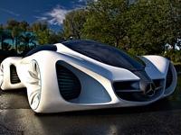 创意怪异 奔驰概念车Benz Biome