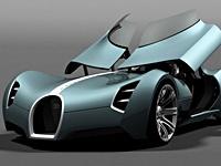 布嘉迪概念车 Bugatti Aerolithe