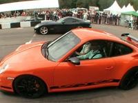 保时捷911 GT3 RS vs 道奇眼镜蛇SRT-10