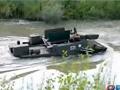 俄罗斯水陆两用军车 彪悍越野能力