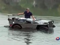超级DIY 木板材质水路两栖迷你吉普