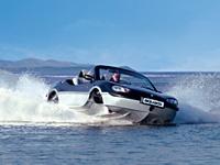 水陆两用车 Gibbs Aquada下水测试