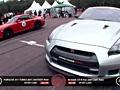 日产GT-R R850 vs 保时捷911 R800