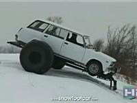 俄罗斯出品--两轮大脚无敌滑雪车
