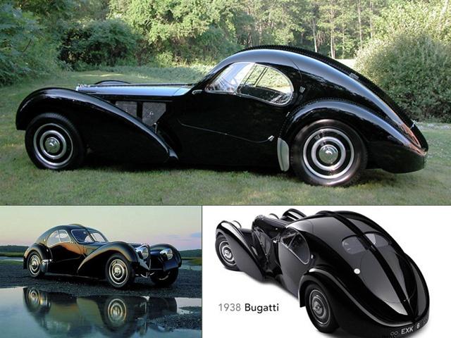 布加迪Type 57 SC Atlantic Coupe